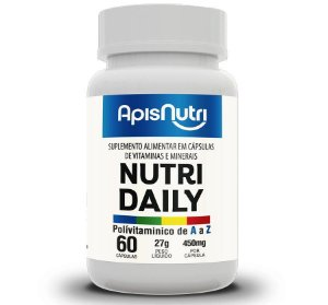 NUTRI DAILY POLIVITAMINICO A-Z - 60C DE 450MG -  APISNUTRI