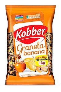 GRANOLA BANANA E MEL - 1KG - KOBBER