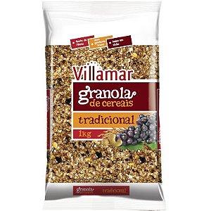 GRANOLA TRADICIONAL - 1KG - VILLAMAR