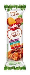 BARRA DE FRUTAS MANGA E GOIABA - 24G - KOBBER