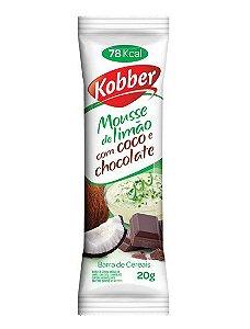 BARRA MOUSSE DE LIMAO C/ COCO/CHOC. - 20G - KOBBER