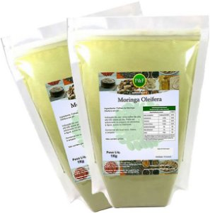 Moringa Oleifera Em Pó Orgânica 100% Pura - 2kg