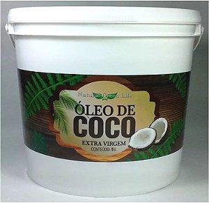 Óleo De Coco Extra Virgem - Balde De 5 Litros
