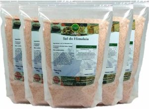 Sal Rosa Do Himalaia Fino - 5kg