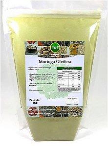 Moringa Oleifera Em Pó 100% Pura