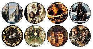 Kit Bottons - O Senhor dos Anéis / O Hobbit