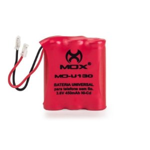 Bateria p/telefone s/ fio Mox MO-U130