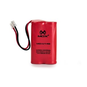 Bateria p/telefone s/ fio Mox MO-U140