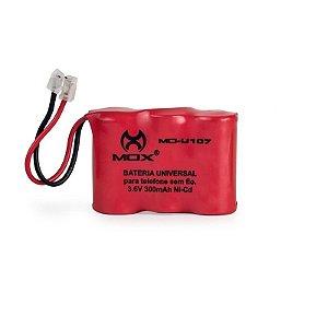 Bateria p/telefone s/ fio Mox MO-U107