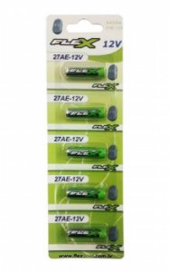 Bateria Flex 27A-12V (Cartela C/5 PCS)