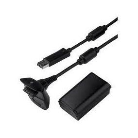 Bateria + cabo p/ Xbox X360