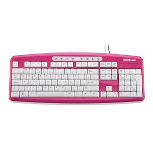Teclado multimídia steel Multilaser TC133