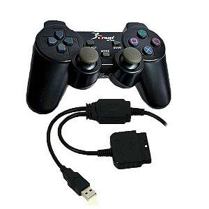Controle 4 em 1  PC/ PS1/ PS2/ PS3 KP-5422