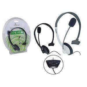 Fone de ouvido p/ X-Box 360 c/ Microfone Knup KP-5363