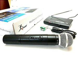 Microfone Sem Fio Profissional KP-910