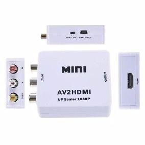 Mini Adaptador Conversor de Rca para Hdmi 02601