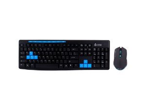 Combo teclado e mouse Infokit s/fio 2.4GHZ SF-X30