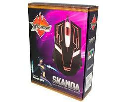 Mouse Gamer Skanda C/Fio 3200-DPI 7 Botões