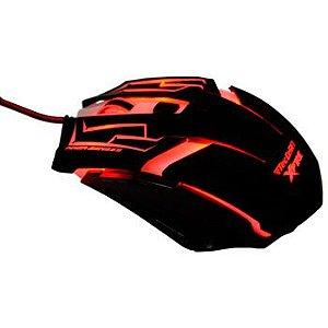Mouse Gamer Skanda C/Fio 3200-DPI 7 Botões.
