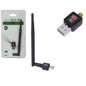 Antena Adaptador Wi-fi Usb 2.0 Wireless 802.lln