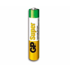 Pilha alcalina GP super GP24A-2U2 AAA/C2