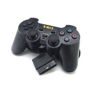 Controle B-MAX P/ PS2 C/Fio BN-021