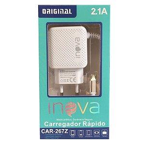 Carregador Inova 1 Usb Rapido  V8  2.1A