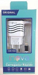 Carregador Inova 1Usb p/ iPhone 5/6 2.1A