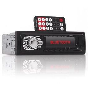 Auto Radio Automotivo Bluetooth Mp3 Player Usb Sd KP-C16