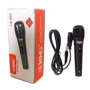 Microfone Lelong C/Fio LE-905