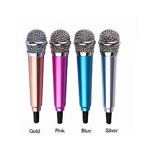 Mini Microfone Para Celular Youtubers Kp-907 Knup