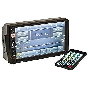 Central Multimídia Kp-c19a 7p Espelha Android Bluetooth