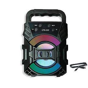 Caixa De Som Portátil Bluetooth 5W RMS MP3/FM/USB KTS-1057