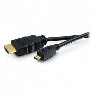 Cabo HDMI x micro HDMI 2m