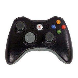 Controle Para Xbox 360 Sem Fio Kp - 5122