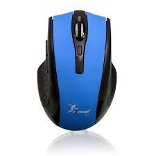 Mouse Sem Fio Knup Kp G11 Botões Laterais 2.4ghz 1600dpi