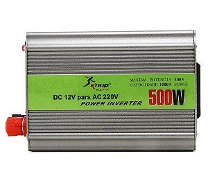 Inversor Conversor Tensão Transformador 500W 12V 220V KP-507 Knup