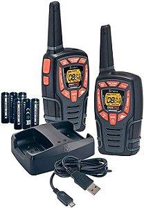 Rádio Comunicador Walk Talk Cobra C/Vsor 40KM