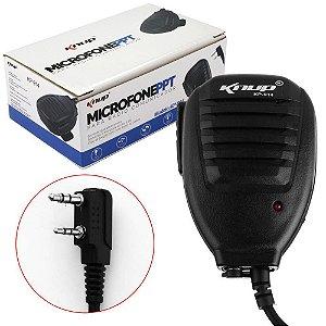 Microfone PPT Alto Falante Radio Comunicador Knup Kp-914
