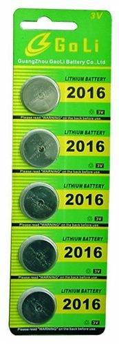 Bateria botão FX-2016-3V