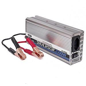 nversor De Tensão 12v 220v 2000w Knup Kp550A Transformador