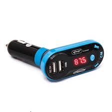 Transmissor Fm Veicular 5 Em 1 Bluetooth Usb Pendriver Sd