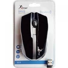Mouse Óptico Sem Fio Knup G13