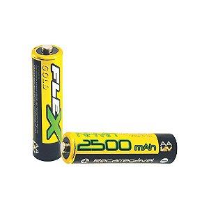 Bat./Pilha Rec. FLEX FX-AA25LB2
