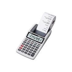 Calculadora c/impressora HR-8TM-GY-AA-DH BCO