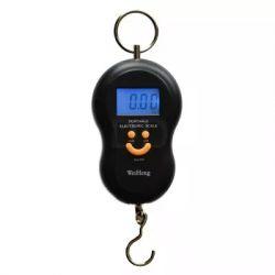 Balança Digital De Bagagem Portátil Com Gancho - Até 50kg