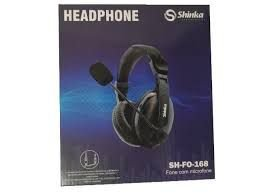 Headphone Shinka P2/P3 C/Microfone SH-FO-168