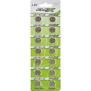 Bateria tipo Botão  Flex FX-LR 1130-1.5V C/14