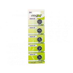 Bateria  Tipo Botão Flex FX-1620-3V