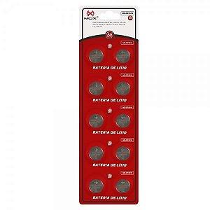 Bateria Mox MO-1616 Cartela C/10